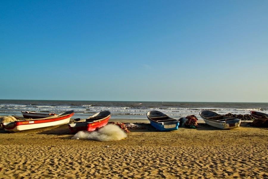Boats of Riohacha