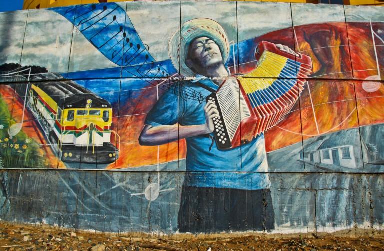 Mural in Riohacha