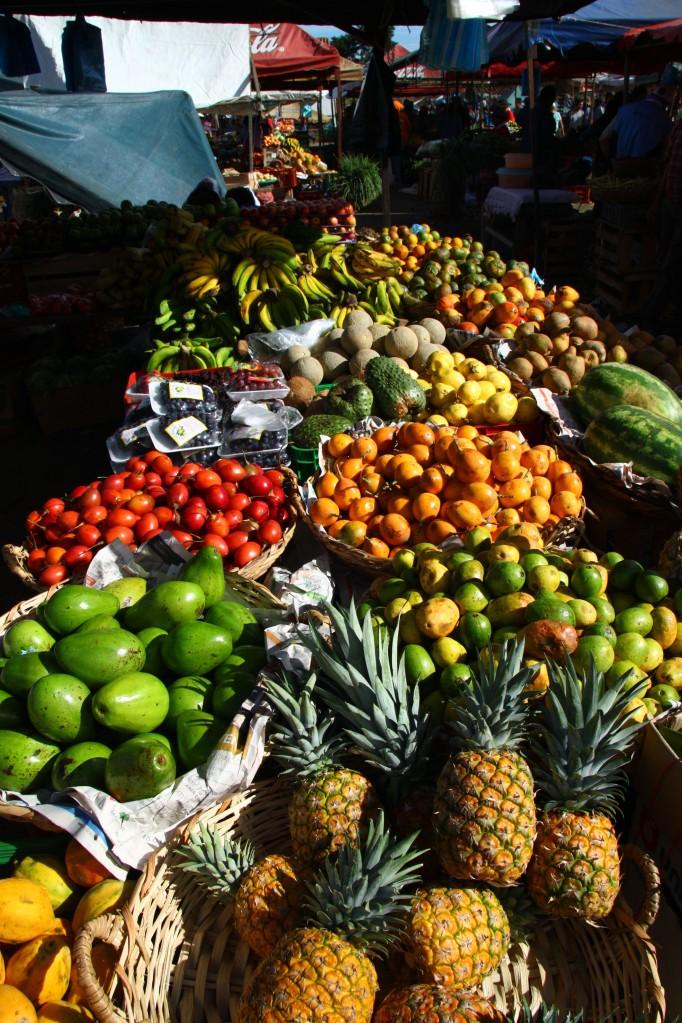 Villa de Leyva market fruits